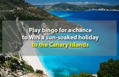 Win a trip to the Canary Islands