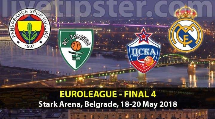 Euroleague tips - Final 4