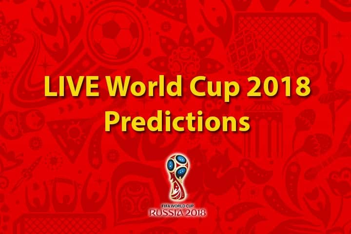 world cup live predictions